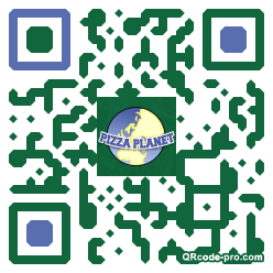 QR code with logo EhO0