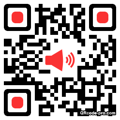 QR code with logo Eoq0