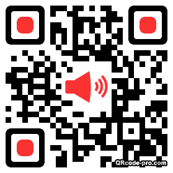 QR code with logo Eor0