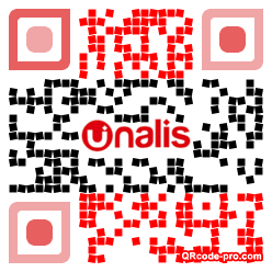 QR code with logo F650