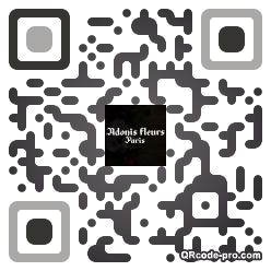 QR code with logo F8z0