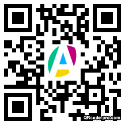 QR code with logo F920