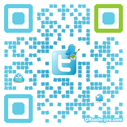 QR code with logo FHo0