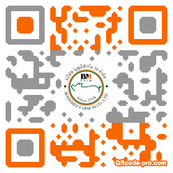 QR code with logo FMF0