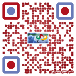 QR code with logo FMY0