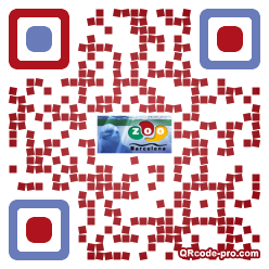 QR code with logo FNf0