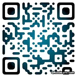 QR code with logo Fc60