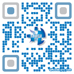 QR code with logo Fgz0