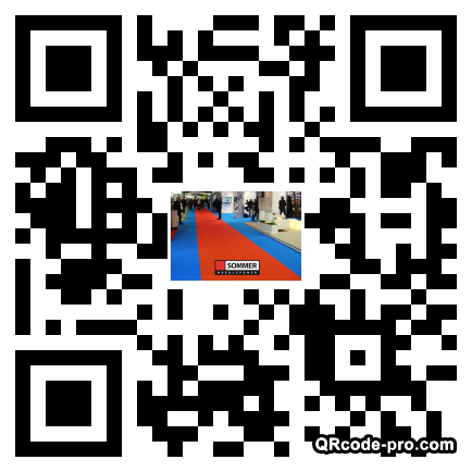 QR code with logo Fhb0