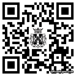 QR code with logo Fni0