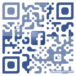 QR code with logo Fp10
