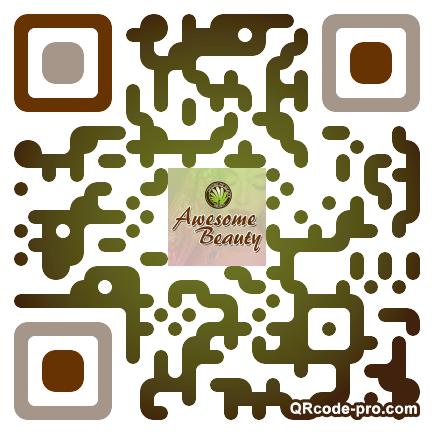 QR code with logo Frs0