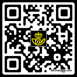 QR code with logo FxT0