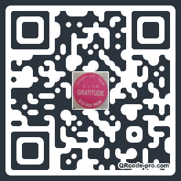 QR code with logo G3r0