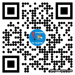 QR code with logo G4J0
