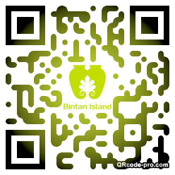 QR code with logo G4k0