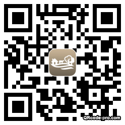 QR code with logo G5K0