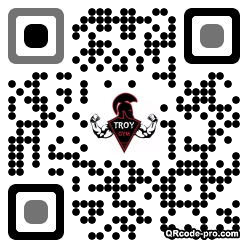 QR code with logo GE50