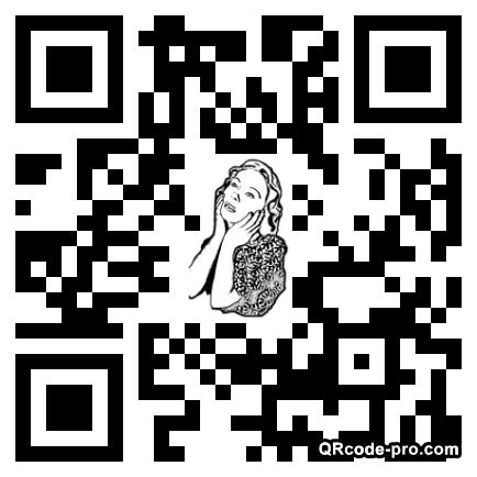 QR code with logo GEI0