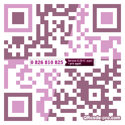 QR code with logo GGI0