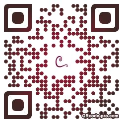 QR code with logo GOc0
