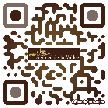 QR code with logo GSe0