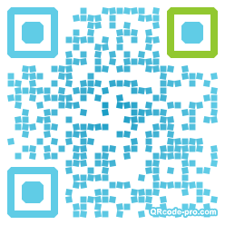 QR code with logo GSi0