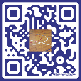 QR code with logo GjR0
