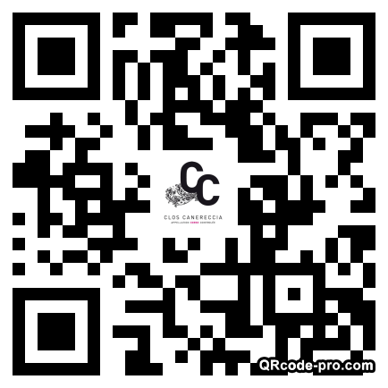QR code with logo GkB0