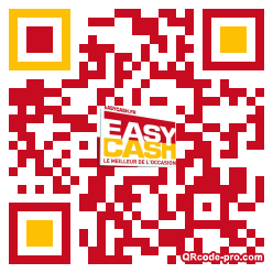 QR code with logo Gn30