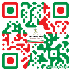 QR code with logo Gn80