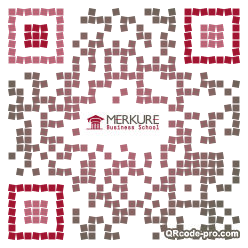 QR code with logo Gny0