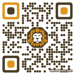 QR code with logo Gq80