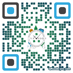 QR code with logo Gtm0