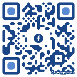 QR code with logo H480