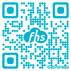 QR code with logo H8G0