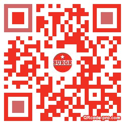 QR code with logo H9S0