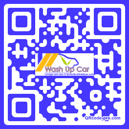 QR code with logo HOZ0