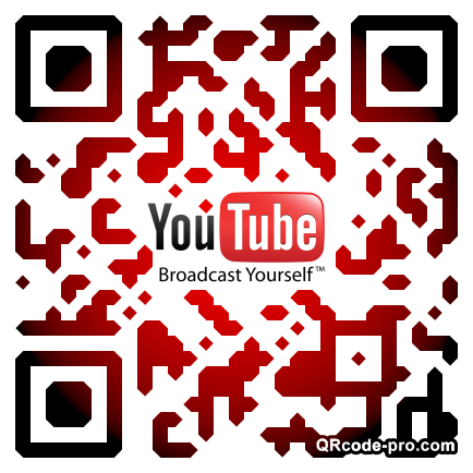 QR code with logo HQI0