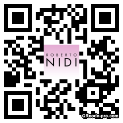 QR code with logo HaH0
