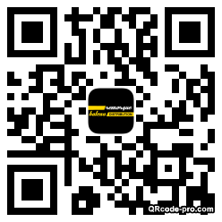 QR code with logo Hcy0