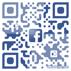 QR code with logo Hhm0
