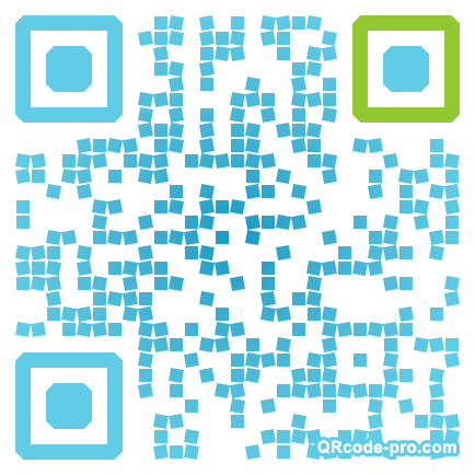 QR code with logo Hj50