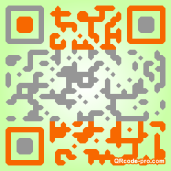 QR code with logo Hld0