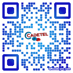 QR code with logo Hlo0