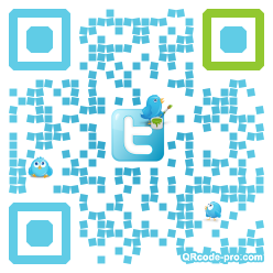 QR code with logo HoJ0