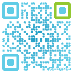 QR code with logo Hrc0
