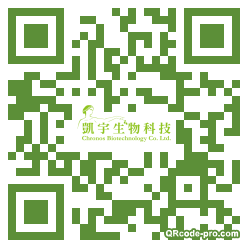 QR code with logo Hs90