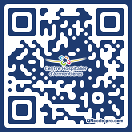 QR code with logo Hws0