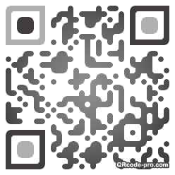 QR code with logo Hx10